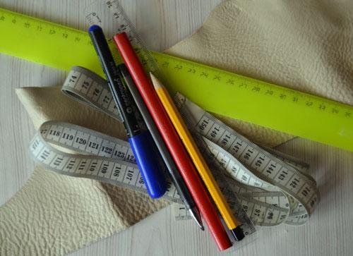 Маркеры и измерительные инструменты