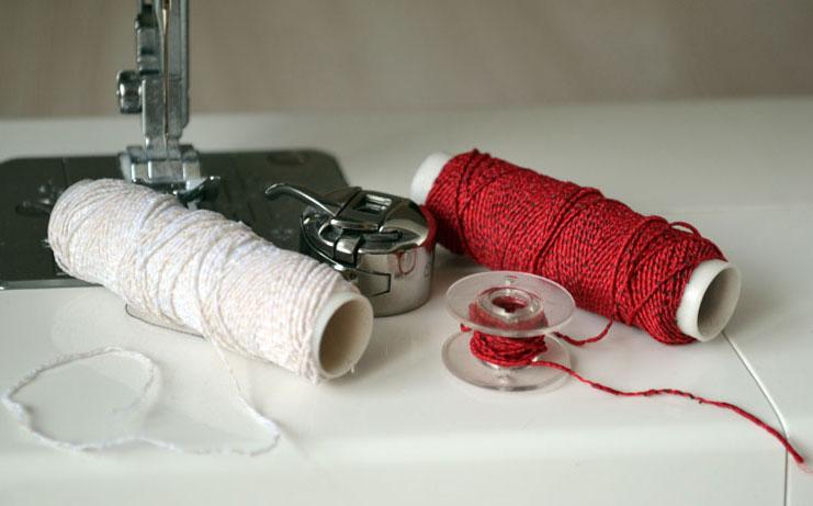 Как шить ниткой резинкой на машинке