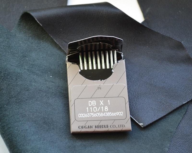 Специальные иглы для пошива кожи