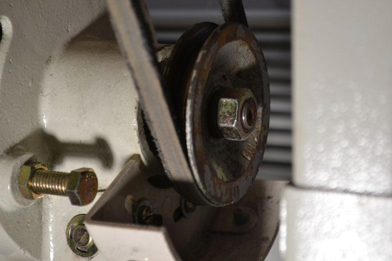 Шкив электропривода промышленной швейной машины