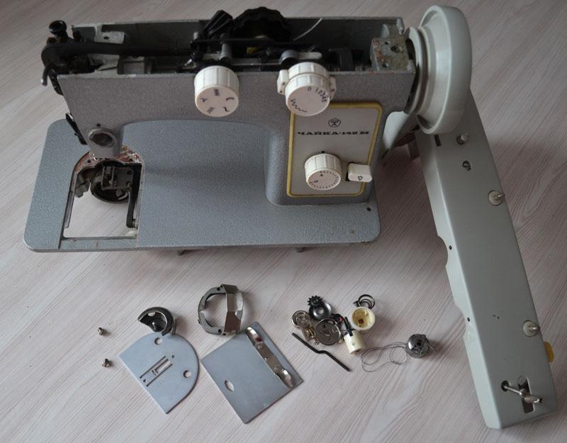 Запчасти для швейной машины Чайка