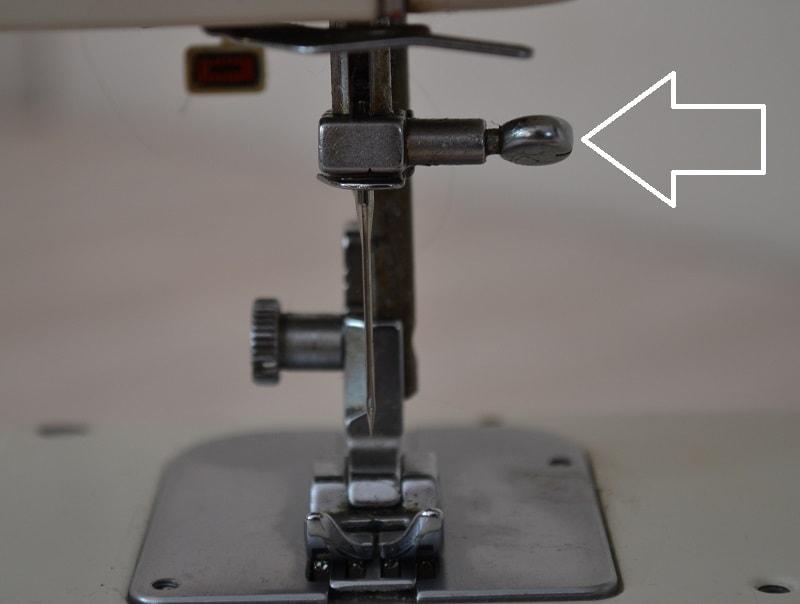 Винт затяжки иглы швейной машины