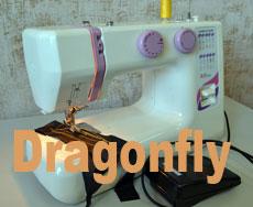 Китайская швейная машина Dragonfly 218