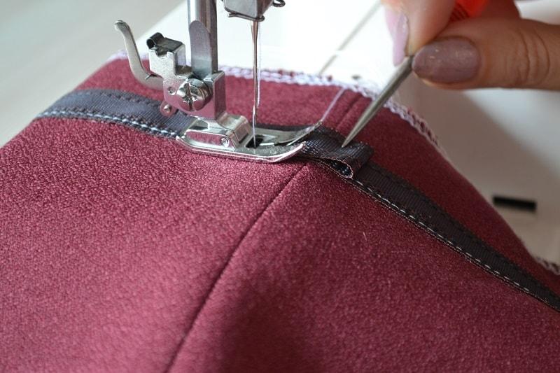 Как сшить брюки без оверлока 56