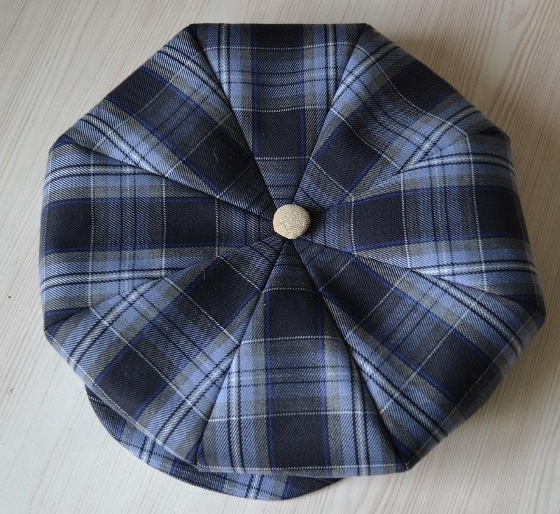 Выкройка и пошив кепки восьмиклинка