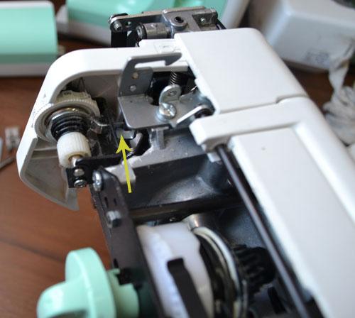 Регулировка швейной машинки джаноме своими руками 30