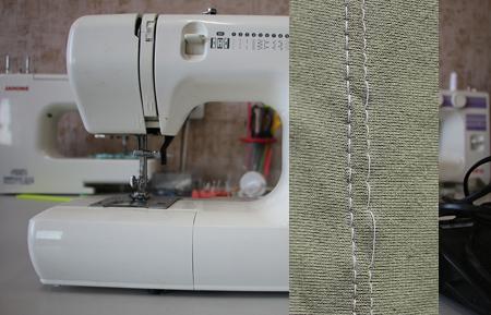 Швейная машина пропускает стежки