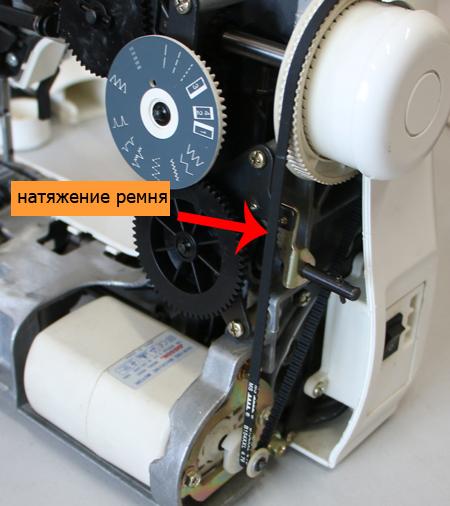 У любой электрической швейной