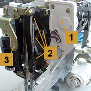 Как разобрать швейную машину Janome