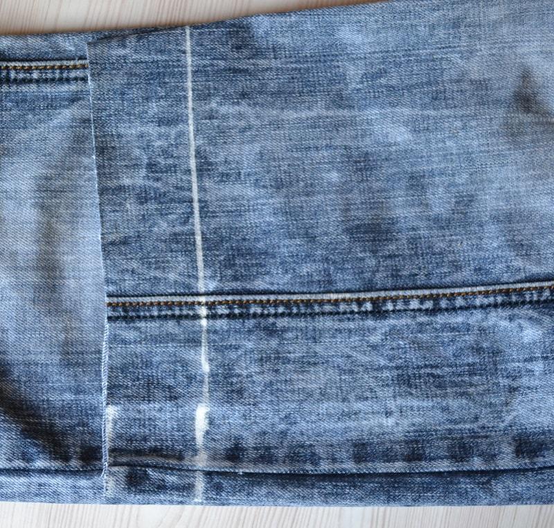 Как правильно отрезать джинсы
