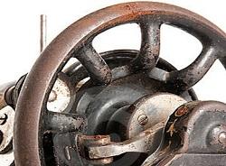 Маховое колесо швейной машины типа Зингер