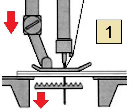 инструкция к швейной машинке лучник 884 - фото 11