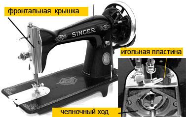 инструкция к швейной машинке зингер старого образца