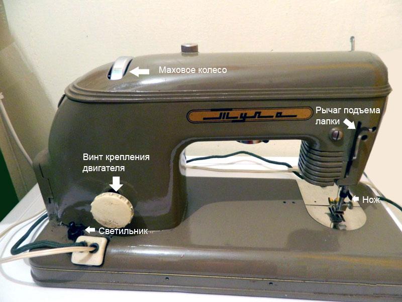 Инструкция подольская швейная машина