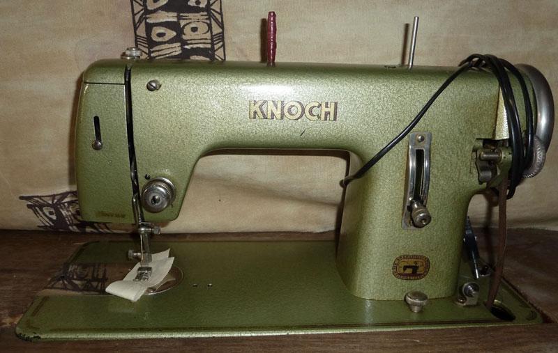 Старые модели швейных машинок - Knoch