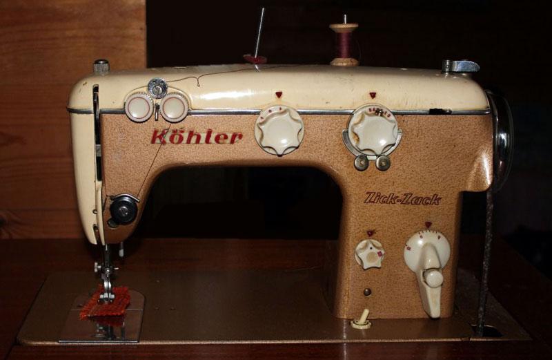 Инструкция к швейной машинке kohler