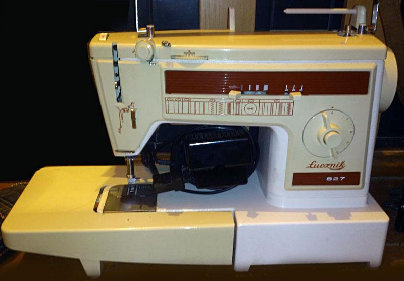 Старые модели швейных машинок - Lucznik
