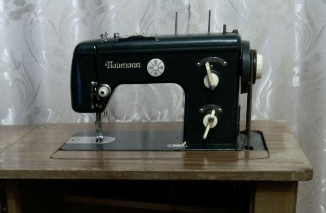Старые модели швейных машинок - Naumann