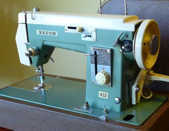 Старые модели швейных машинок - Radom