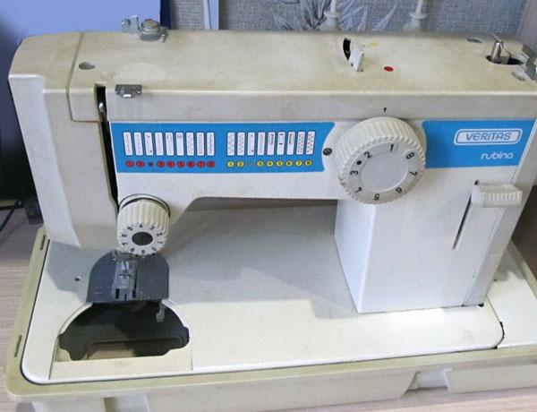 Старые модели швейных машинок - Rubina