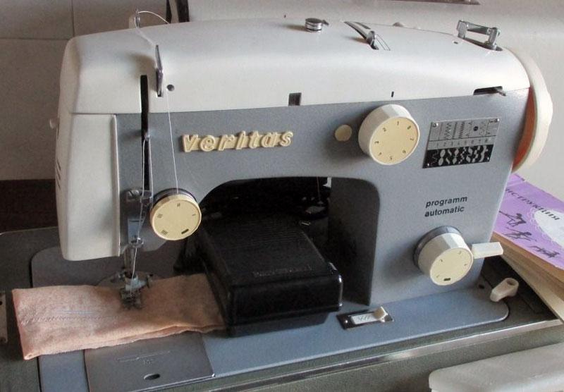 Швейная машина veritas (гдр) каталог.