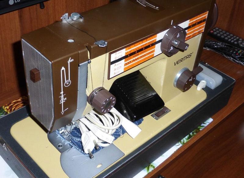 Старые модели швейных машинок - Veritas