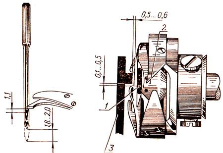 Настройка параметров работы челнока