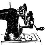 Намотка шпульки - швейная машина Подольск