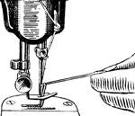 Подготовка к шитью машины ПМЗ