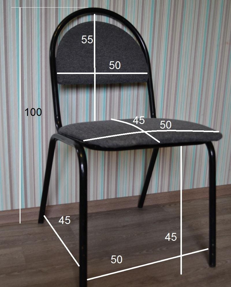 Как снимать мерки для чехла на стул
