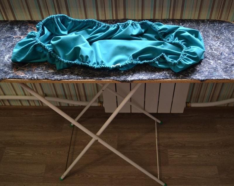 Расход ткани для чехла гладильной доски