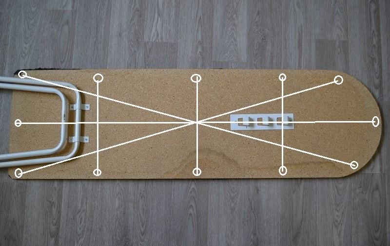 Как закрепить ткань чехла гладильной доски