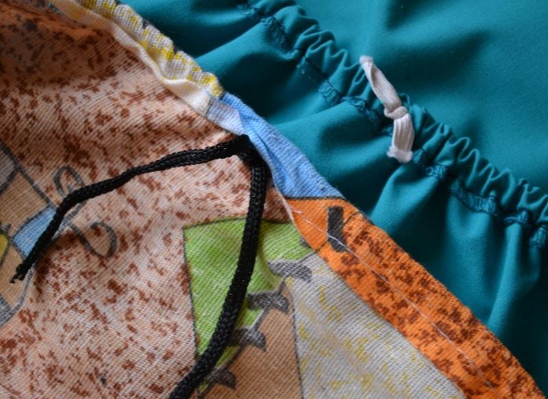 Как затянуть чехол на гладильной доске