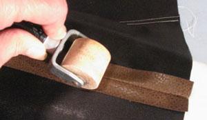 Инструменты и технология пошива кожи