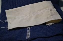 Распошивальный (плоский) шов