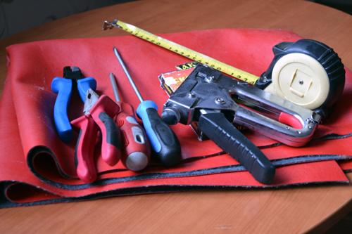 Инструменты для ремонта кресел