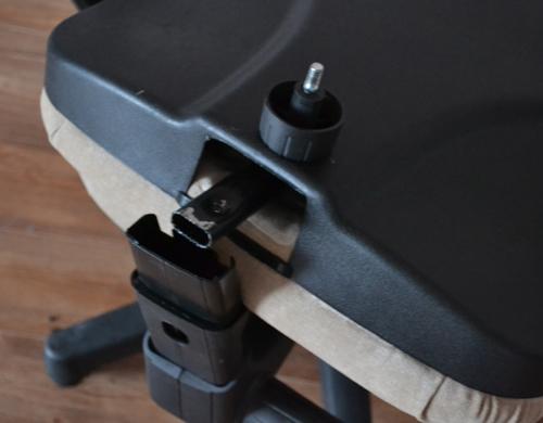 Как разобрать спинку кресла