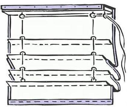 Механизм римские шторы своими руками 88