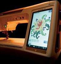 Монитор вышивальных машин