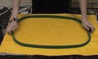 Размер дизайна для вышивальной машины
