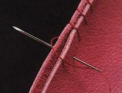 Иголки для пошива кожи