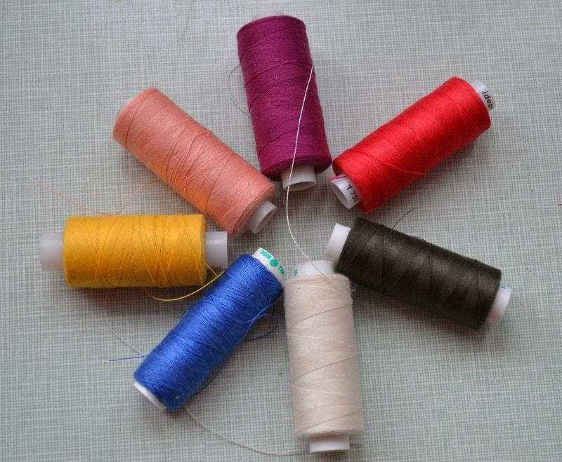 Смесовые швейные нитки