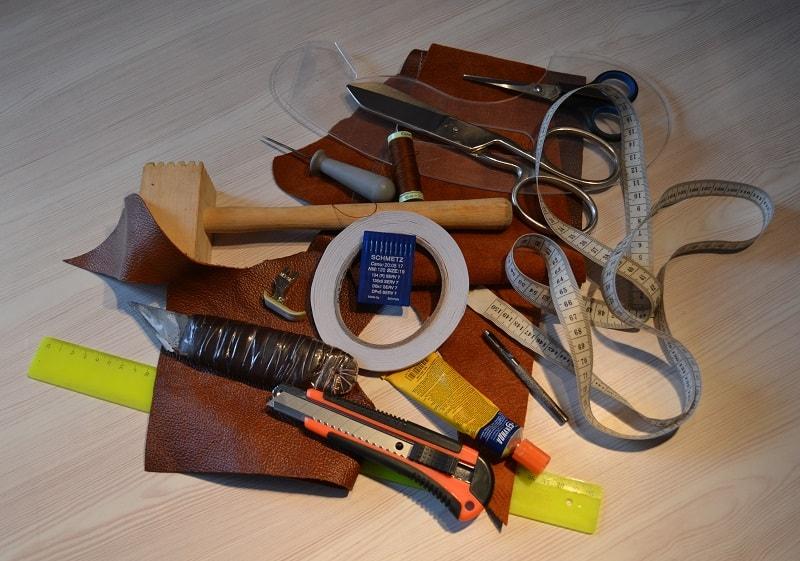 Инструменты для работы с мехом