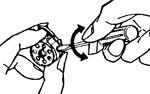 Регулировка нитки в шпульном колпачке