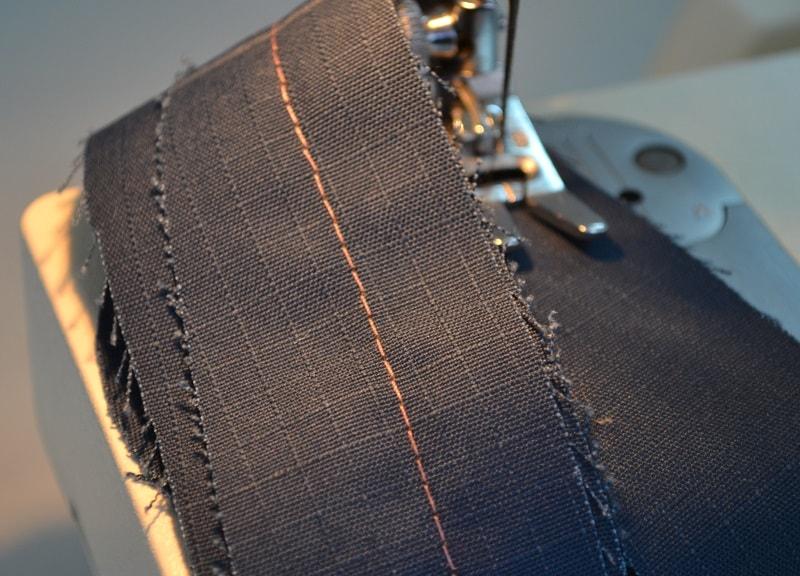 Почему швейная строчка петляет
