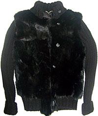 Лучше всего для меховой жилетки использовать старую шубу из норки или лисы, но только если мех хорошо сохранился.