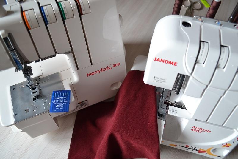 Швейные машины для пошива трикотажных тканей