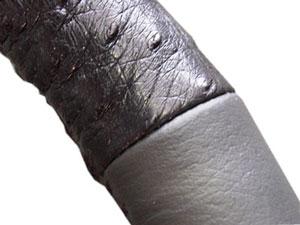 Припуски оплетки руля из кожи
