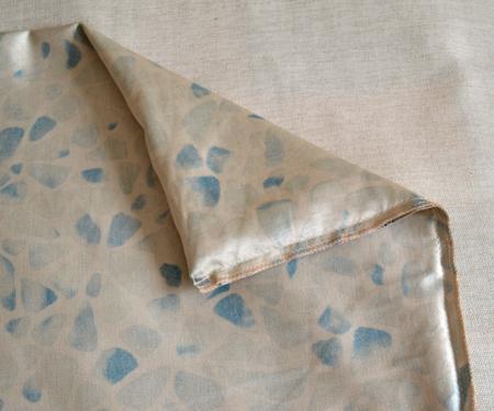Обработка срезанного края ткани чехла подушки