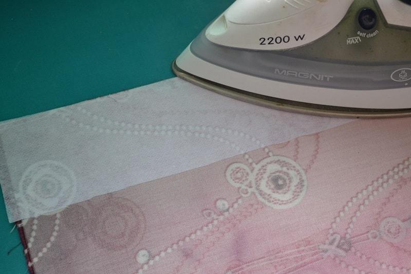 Как поставить на ткань клеевые материалы